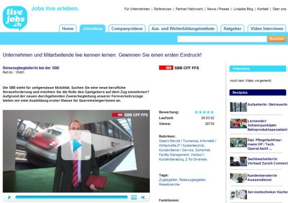 livejobs.ch video
