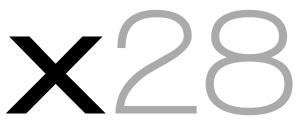 x28 AG Logo